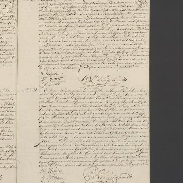 Civil registry of births, Meppel, 1835, records 40-41