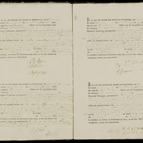 Civil registry of deaths, Achtkarspelen, 1823, sheet 3