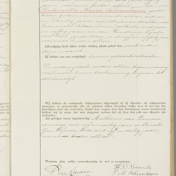 Civil registry of marriages, Utrecht, 1918, record 983
