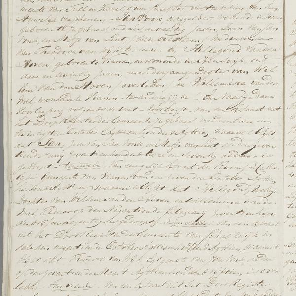 Civil registry of marriages, Tull en 't Waal, 1818, record 4