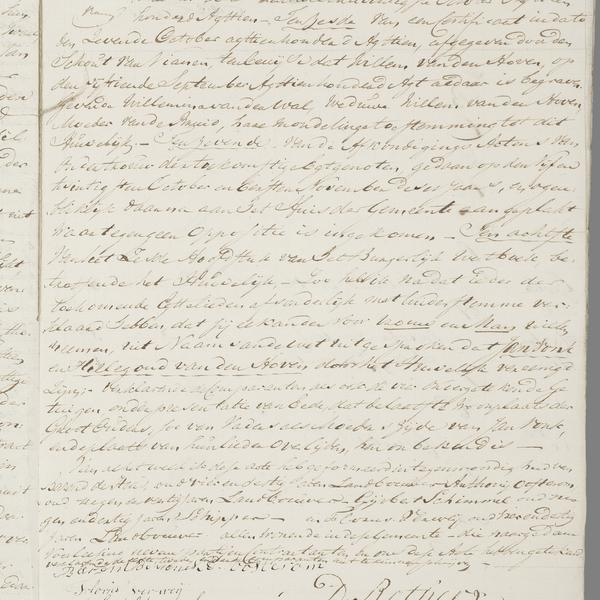 Civil registry of marriages, Tull en 't Waal, 1818, record 4-end
