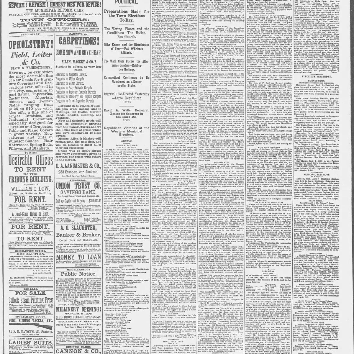 The Chicago Tribune, 1876-04-04, page 1