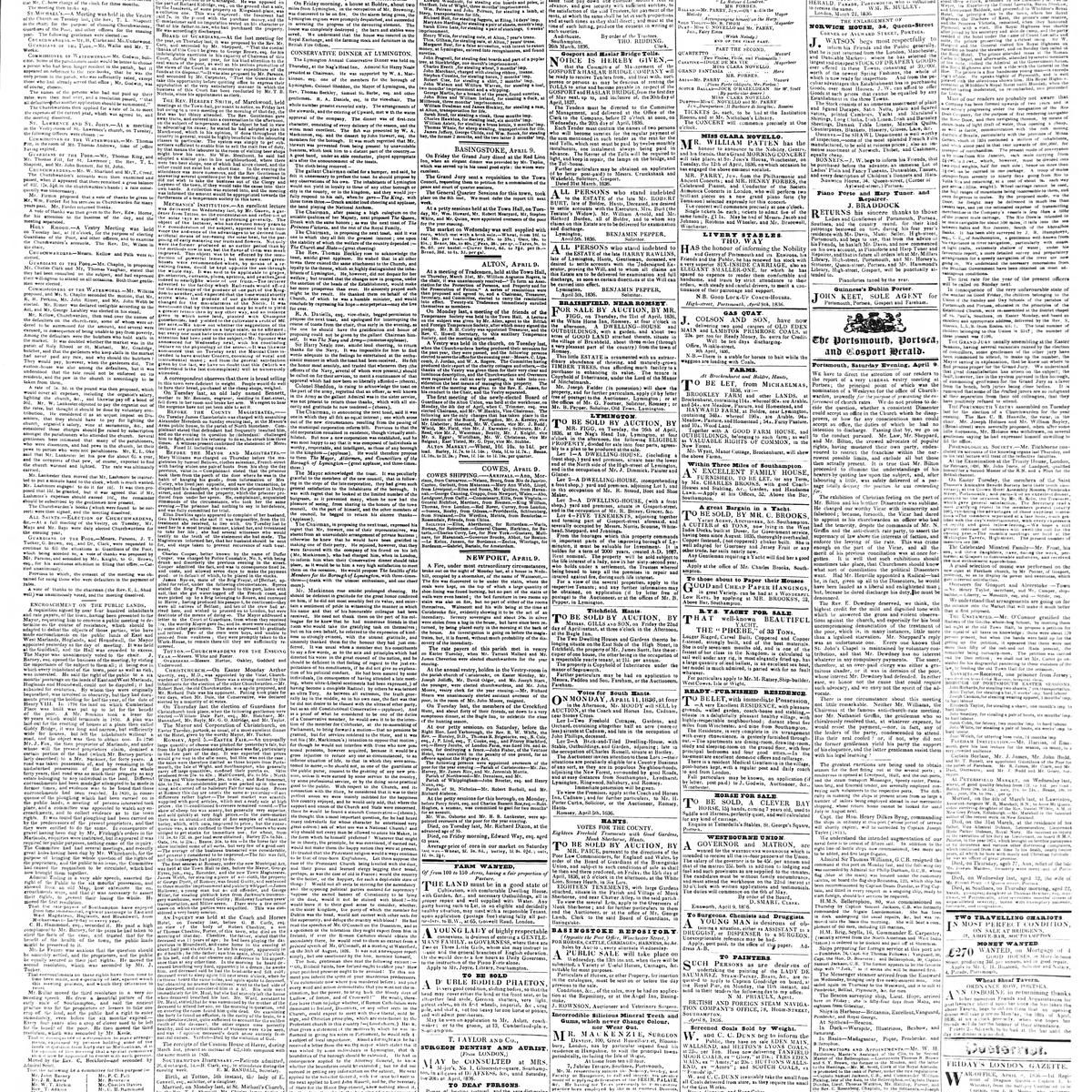 The Hampshire Advertiser, 1836-04-09, page 3