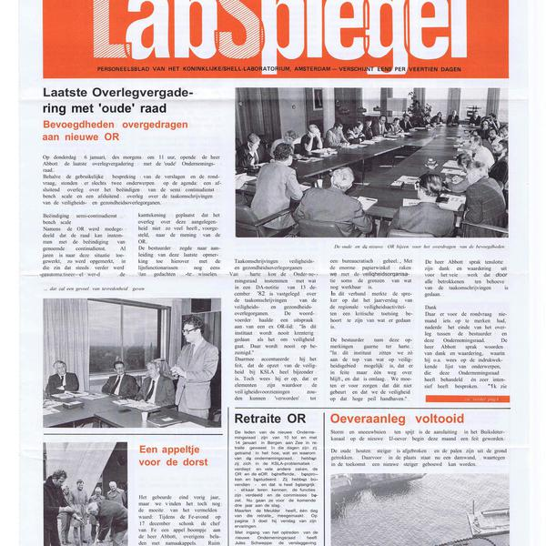 LabSpiegel, January 21, 1983